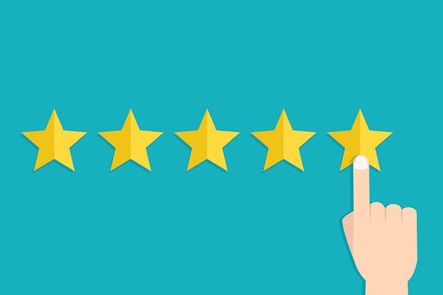 Flex HR services Testimonials 5-star graphic