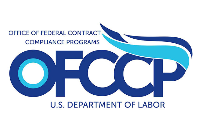 Logo for OFCCP office of federal contract compliance program