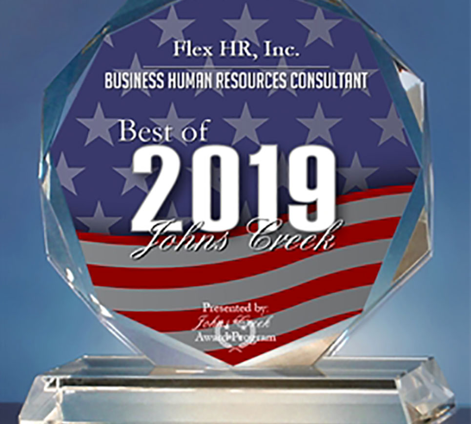 Flex HR Johns Creek Best of 2019 Award