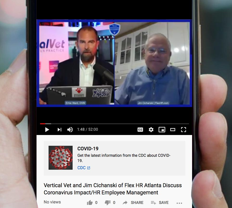 Vertical vet and Jim Cichanski discuss the coronavirus and HR business consulting