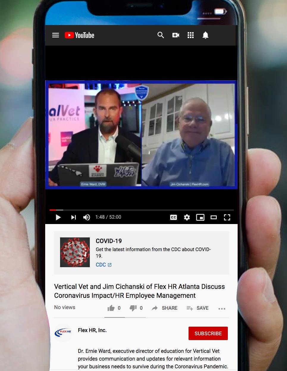 Vertical vet and Jim Cichanski discuss the coronavirus