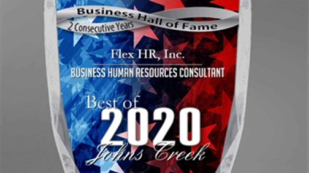 Johns Creek Hall of Fame Jim Cichanski of Flex HR Award