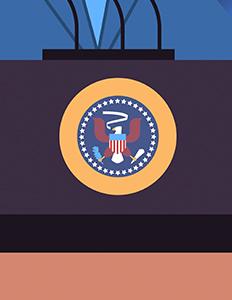 President Inaguration Symbol