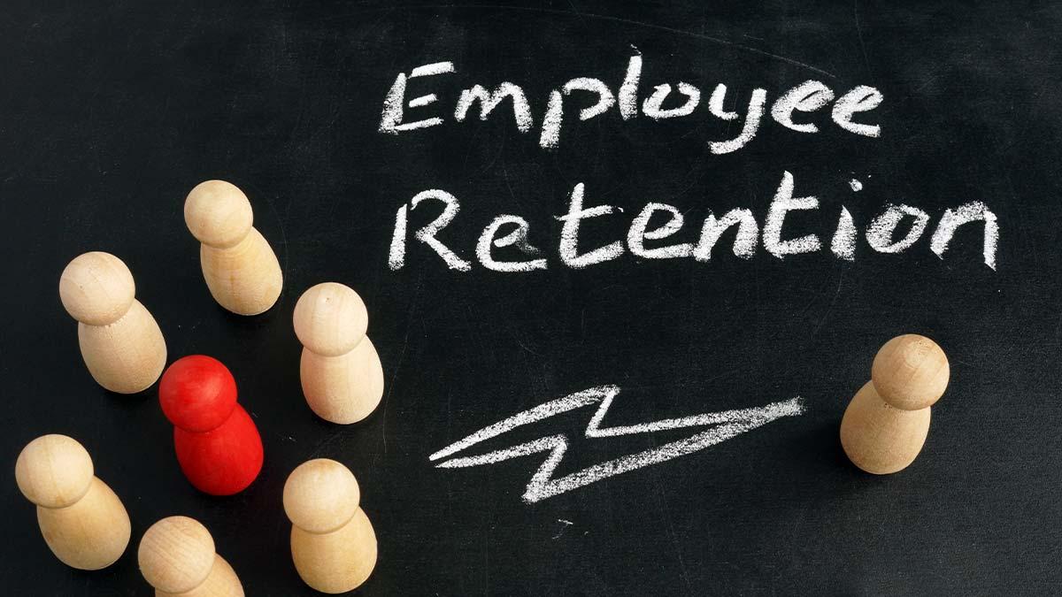 Employee retention graphic