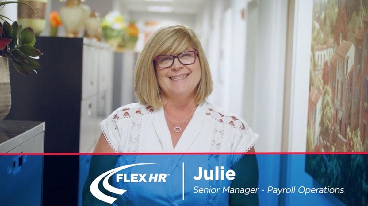 Julie Brown Flex HR Payroll Manager